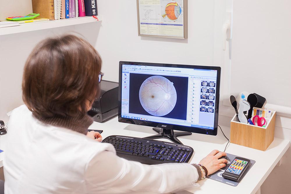 servicio retinografia optica arenas huesca
